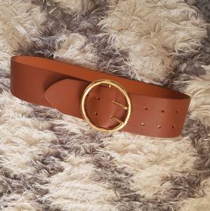 Express brown belt M